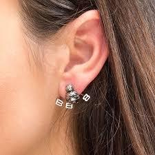 jacket earrings wars bb 8 steel ear jacket earrings thinkgeek
