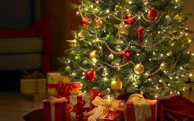 free christmas tree wallpaper high quality resolution long