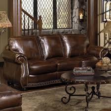 sofas fabulous black leather sofa set nailhead couch nailhead