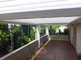 pare vent verre coulissant panoramique fermeture en verre pour pergola abriglass