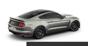Mustang Black Roof 2017 Ford Shelby Gt350 Autonation Convenience Package Black Top