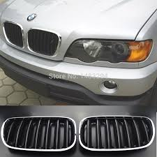 bmw grill black brand new grill kidney covers pre facelift fits for bmw x5