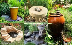 download water fountain ideas garden solidaria garden
