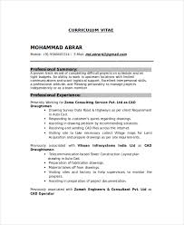 Mechanical Resume Samples by Drafter Resume Template 7 Free Word Pdf Documents Download