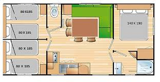 cing le picouty 3 room mobile home