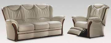 Leather Sofa Suite Deals Verona 3 1 Electric Reclining Genuine Italian Cream Leather Sofa