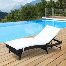 Lounge Chair Outdoor Outdoor Chaise Lounges You U0027ll Love Wayfair Ca