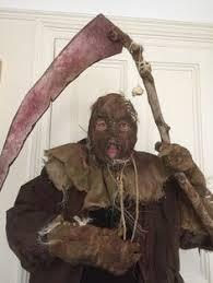 Halloween Scarecrow Costume Pumpkinhead Scarecrow Mask Super Creepy Website