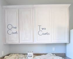 how to refinish cabinets with paint painting oak cabinets using rustoleum s cabinet kit low odor