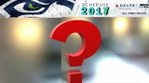 2017 Nfl Schedule Release by Could This Be The 2017 Seahawks Schedule Schedule Predictions For