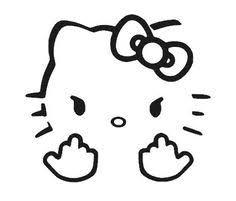 hello kitty rtic decal hello kitty yeti decal vinyl decal yeti