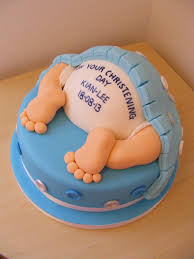 4 funny christening cakes for baby boys