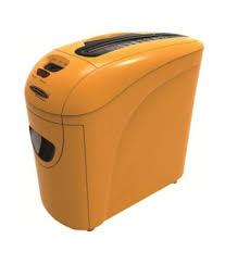 bambalio desire bcc 2700 crosscut paper shredder orange buy