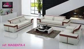canapé cuir design luxe salon en cuir royal sofa idée de canapé et meuble maison