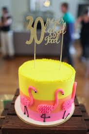 Tropical Theme Birthday Cake - tropical party hawaiian party tropical flamingo party ideas
