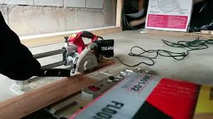 Miter Saw For Laminate Flooring Skilsaw Skil 3600 02 Laminate Flooring Saw Youtube