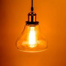 Yellow Pendant Lights Online Get Cheap Vintage Glass Pendant Light Aliexpress Com