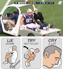 Injury Meme - nfl memes on twitter patriots fans reaction to rob gronkowski s