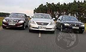 lexus better than mercedes autozeitung bmw 750i vs mercedes s 500 vs lexus ls 600h