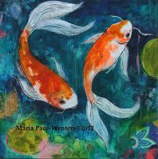 two koi pond