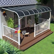 outside window cover best vinyl patio covers ideas on patio roof