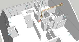 Home Hvac Duct Design by Cosy Bathroom Extractor Ducting With Bathroom Fan Duct Size Best