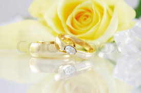 beautiful golden rings images Wedding still life with beautiful golden rings stock photo jpg