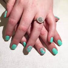 15 teal nail designs you u0027ll fall in love with u2013 naildesigncode