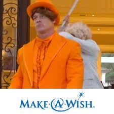 Randy Orton Halloween Costume John Cena Worn Orange Tuxedo Halloween Costume Wwe Auction