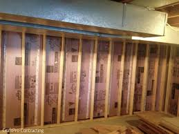 Proper Way To Insulate Basement Walls by Do It Yourself How To Installing Xps Extruded Polystyrene Foam