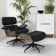 Lounge Chair Ottoman Price Design Ideas Furniture Cozy Eames Lounge Chair For Family Room And Office