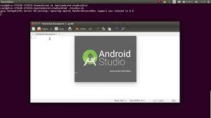 android studio linux how to open android studio in ubuntu linux