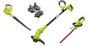 amazon black friday deals on string trimmer ryobi one 18 volt lithium ion cordless hedge trimmer blower combo