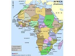 africa map elevation types of maps political map physical map topographic map relife