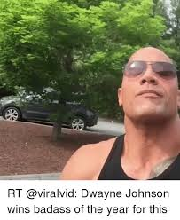 Dwayne Johnson Car Meme - rt dwayne johnson wins badass of the year for this dwayne johnson
