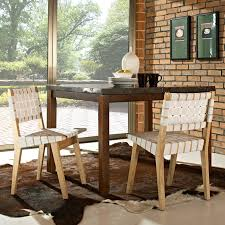 dining room remarkable woven dining room chairs to add attraction