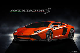 2017 lamborghini aventador s gets rendered