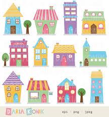 villa clipart cute home pencil and in color villa clipart cute home