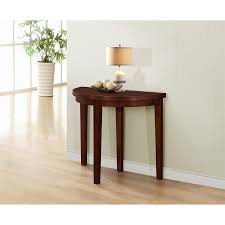Half Moon Sofa Tables by 4d Concepts 537102 Springfield Flip Half Moon Table In Antique Oak