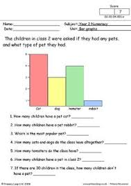 1st grade picture graph worksheet 1c weather survey a simple