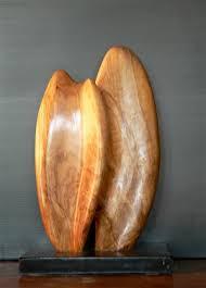 Sculpture En Bois D Olivier Ovalia Olivier 10x20x30 Cm Abstrait Galerie Sculpture Sur