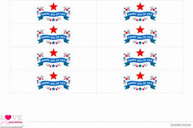 printable napkin rings free july 4th printables from party printables catch my party