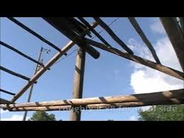 How To Build A Tiki Hut Roof Tiki Hut Roof Youtube