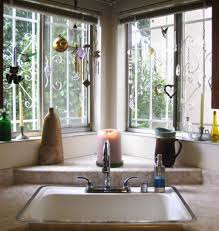 modern curtains for kitchen decorations awesome corner kitchen windowed with marvelous white
