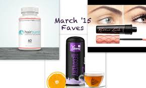 hairburst vitamins reviews march 15 fave s benefit roller lash skinny bunny tea