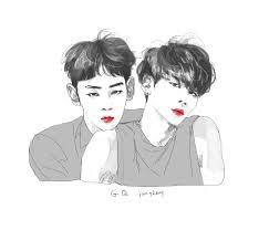 shinee key and jonghyun fanart http faheej com k pop