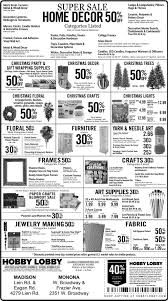 hobby lobby thanksgiving retail ad ad vault host