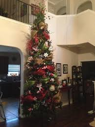 interior 12 foot tree tinsel tree