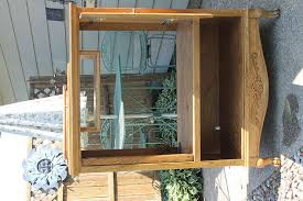 Outdoor Entertainment Center - old entertainment center turned into a potting shed hometalk