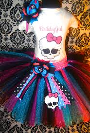 princess demi monster high tutu set birthday party ideas princess demi monster high tutu set